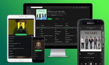 spotify bisa diakses di berbagai perangkat
